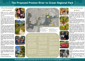 Preston River to Ocean 2013 - 2017